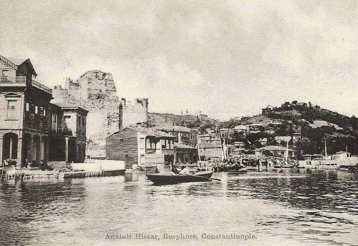 Anadolu Hisarı / Göksu / 1908 http://ift.tt/1UfpFA5