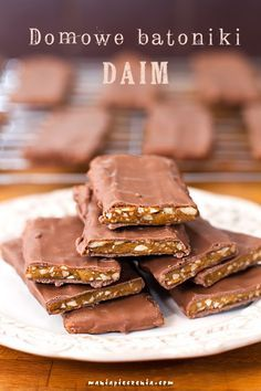 Domowe batoniki Daim / Homemade Daim Bars