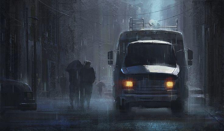 a raining day by 0BO.deviantart.com on @deviantART
