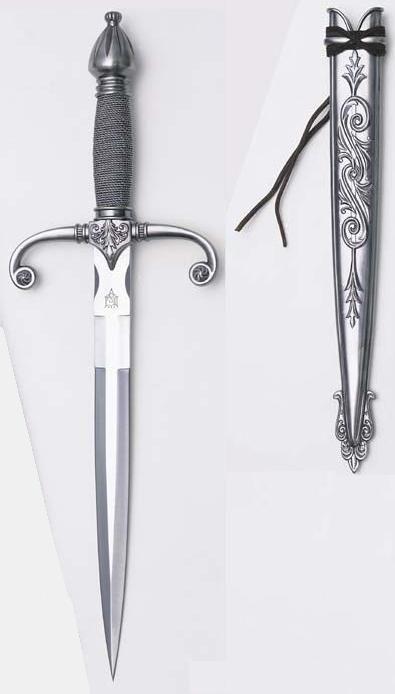 Knight's Medieval Dagger