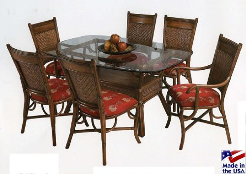 Captiva Dining Set By Stanley Chair Rattan