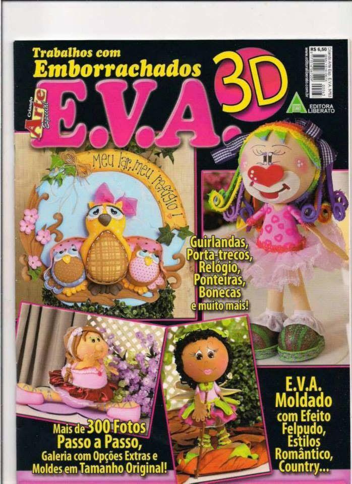 Mis revistas en goma eva.