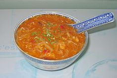 Peking Suppe - Süß Sauer Suppe (Rezept mit Bild)   Chefkoch.de