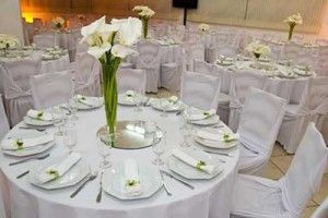 fotos de mesas decoradas de casamento