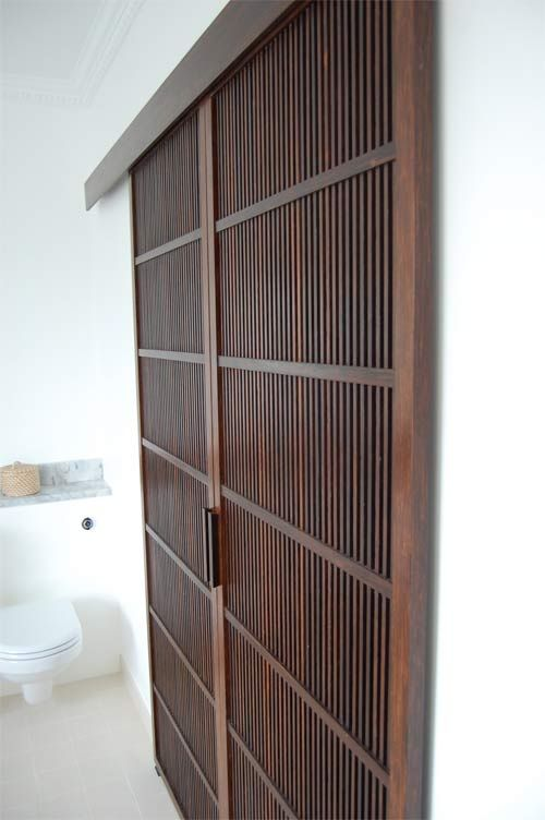 Koushido - slatted doors & 30 best slat doors images on Pinterest | Folding screens Bathroom ...