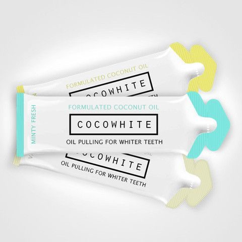Cocowhite - Oil Pulling for whiter teeth and a healthier mouth.