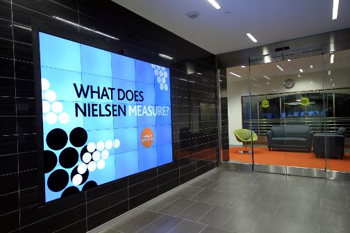 Interactive Video Wall - Micro Tile Technology | Engage