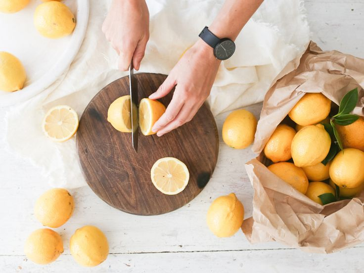 The Slowpoke: CLEANING WITH LEMONS // Using lemons around the home #healthy #chemicalfree