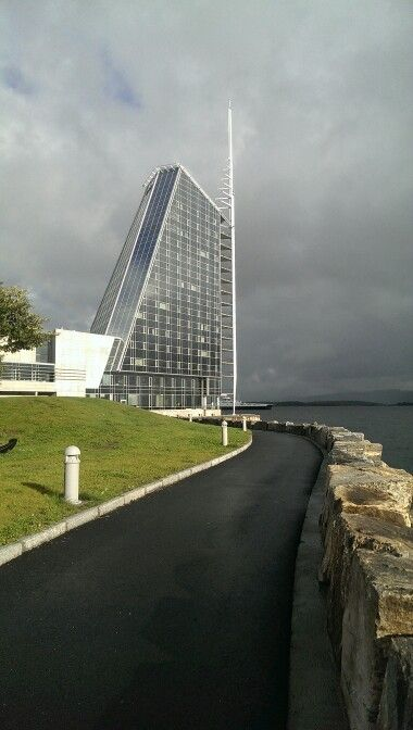 Rica Seilet Hotel in Molde, Norway. Architect Kjell Kosberg