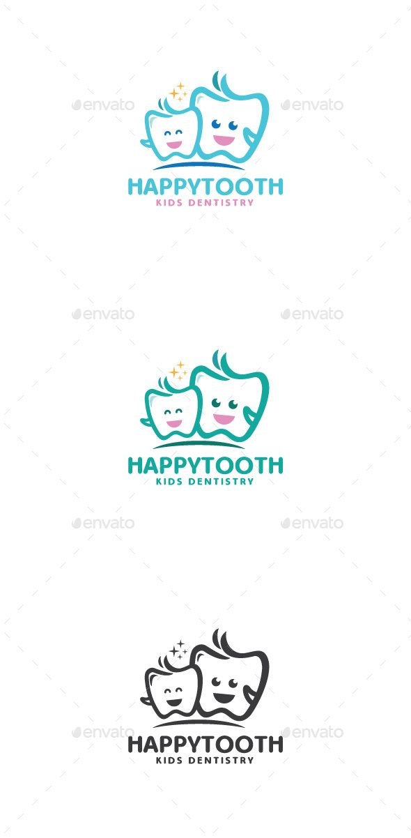 Happy Tooth Logo Mascot — Transparent PNG #dentistry #happy • Available here → https://graphicriver.net/item/happy-tooth-logo-mascot/14474607?ref=pxcr