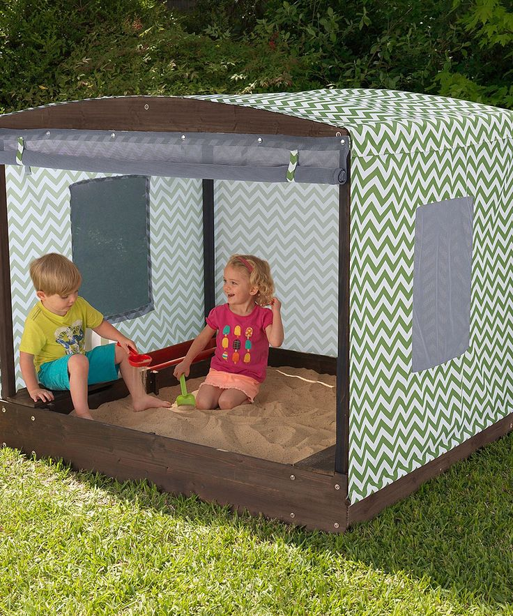 Fun in the Sun Cabana Sandbox | zulily