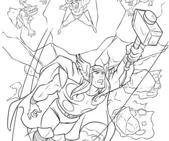 25 best COLORING PAGES images on Pinterest | The avengers ...