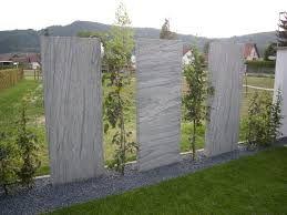 Bildergebnis für sichtschutz garten granit Sichtschutz