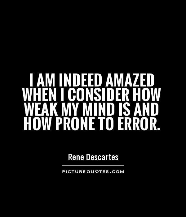 The Best Rene Descartes Quotes On The Web. #PictureQuotes