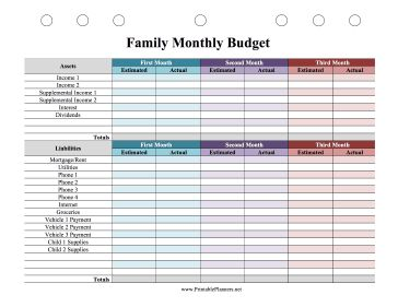 25+ best Family budget planner ideas on Pinterest | Financial ...