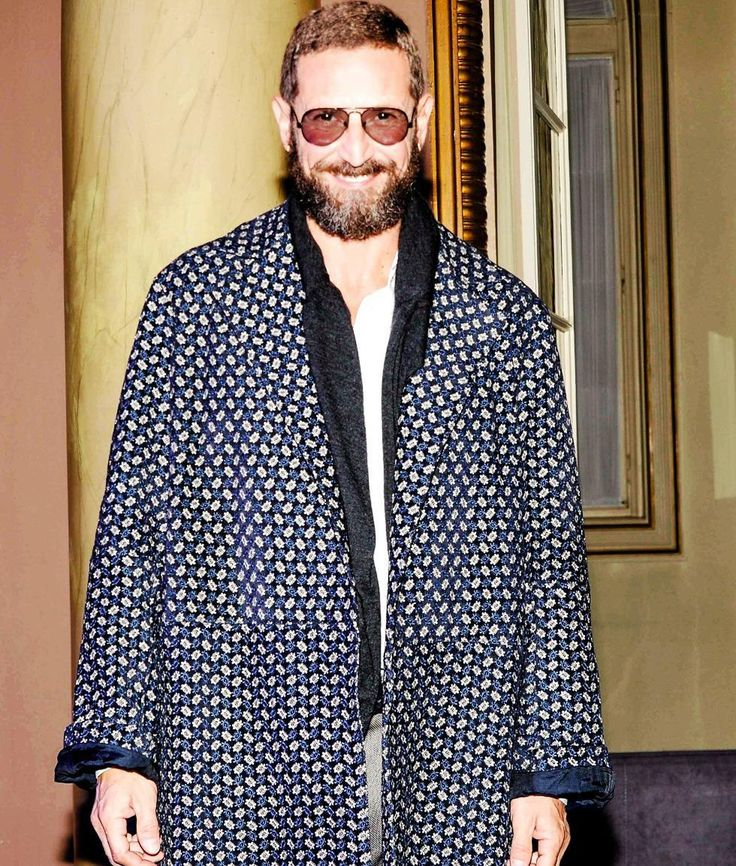 "Stefano Pilati - ""The Zegna designer has my vote. Why? To me, he is the epitome of fearless, intuitive elegance: always intensely masculine, but those cuts, those fabrics, the tattoos, the jewelry . . ."" —Sally Singer, Vogue Creative Digital Director"