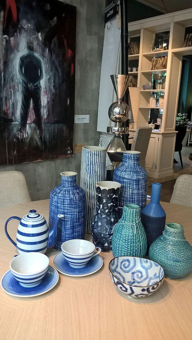 #interiordesigner #design #valterpisati #decorazione #atmosphere #oggettistica #objects #ideeregalo #vasi #tazze #portacandele #showroom