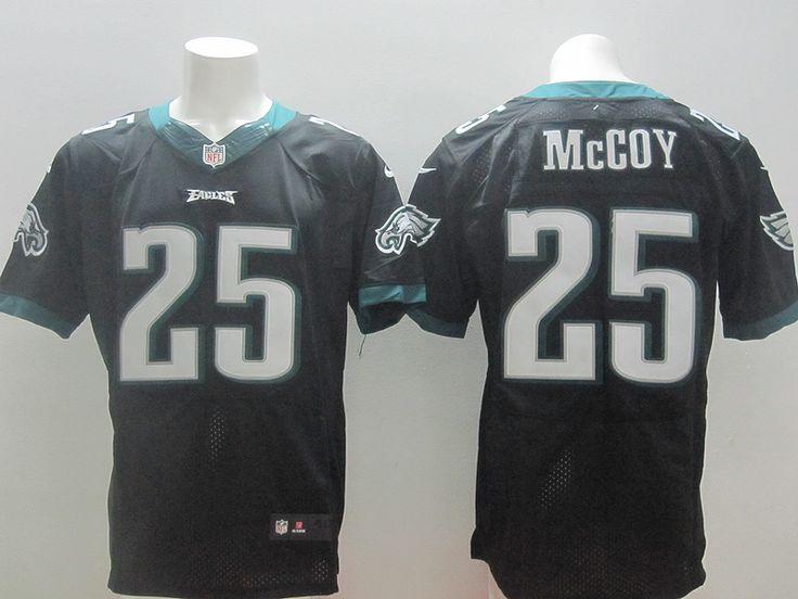 Philadelphia Eagles #25 LeSean McCoy Black