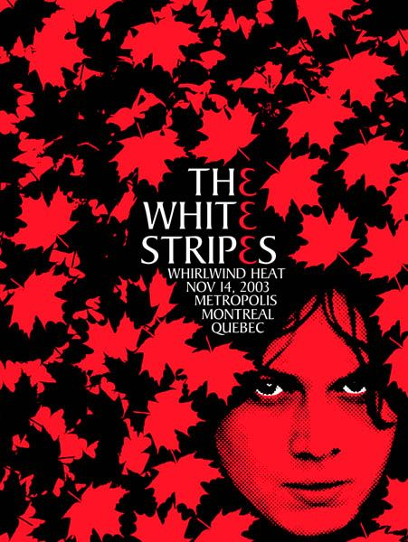 The White Stripes (Montreal) by Rob Jones