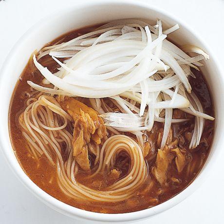 ツナカレーにゅうめん | 外処佳絵さんのそうめん・ひやむぎの料理レシピ | プロの簡単料理レシピはレタスクラブニュース