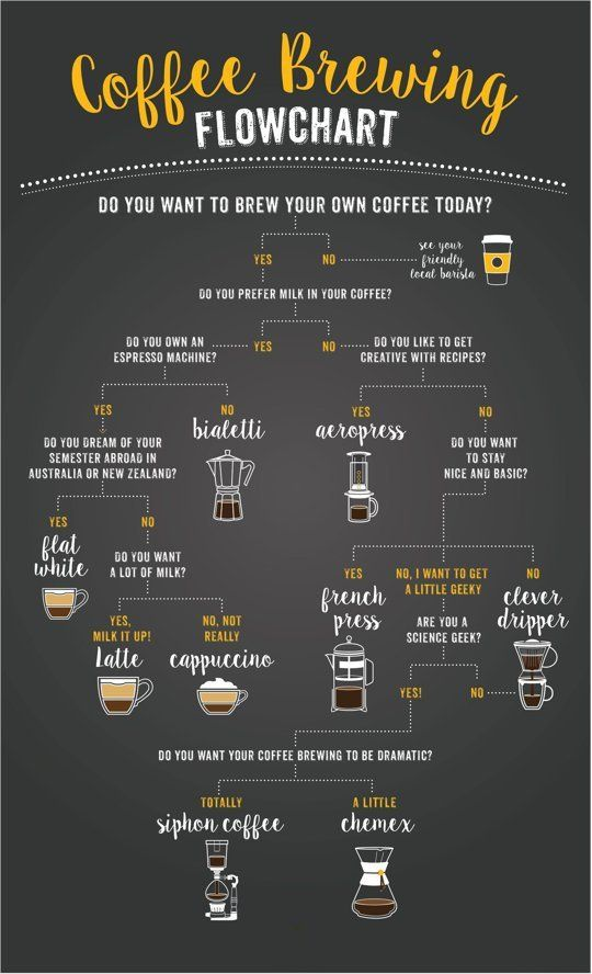 A Flowchart to Help You Choose the Right Coffee Brewing Method