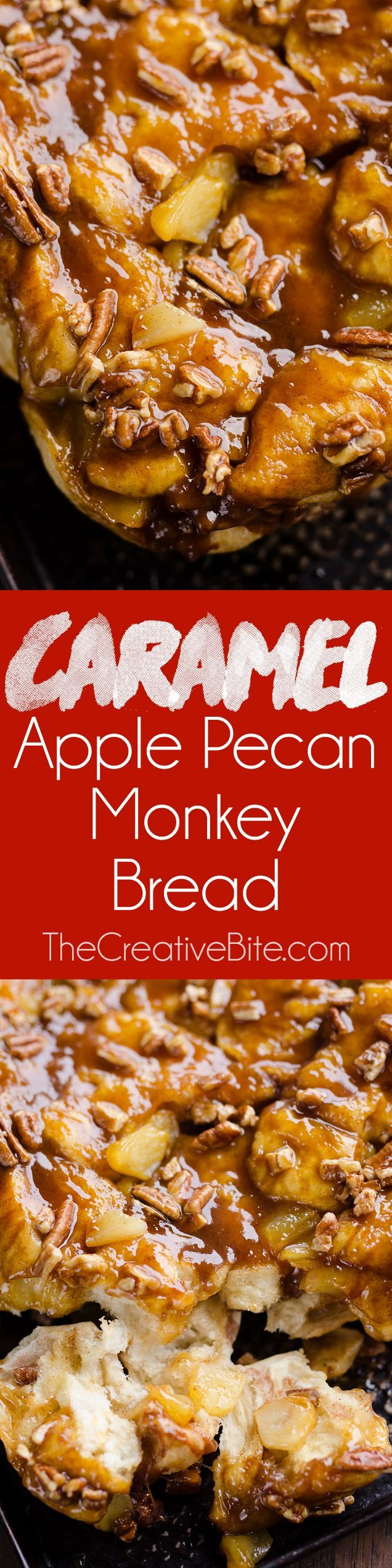 Caramel Apple Pecan Monkey Bread is a family favorite brunch recipe that you need to try! Soft bread is tossed with a sweet caramel sauce, tart apples and crunchy pecans for a sweet morning treat you are sure to love.