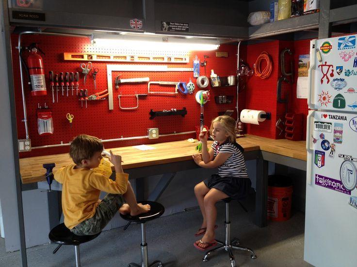 garage on Pinterest | Garage Workbench, Workbenches and ...