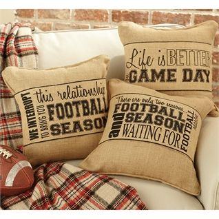 Game Day Pillow Wrap Available now at Yum Yum Tree · MudpieSilhouette CameoBusiness IdeasLa ... & 74 best Pillow Wraps images on Pinterest | Burlap pillows Burlap ... pillowsntoast.com