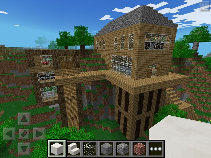 Minecraft House Blueprints Pe