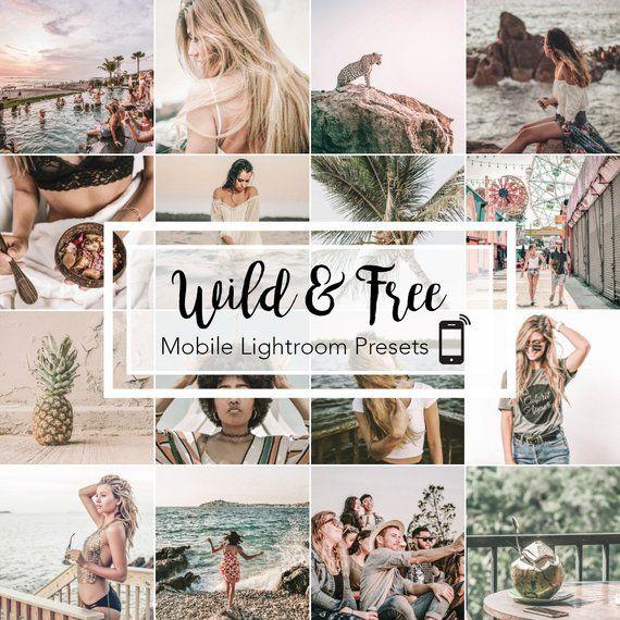 Mobile Lightroom Presets Wild Free Instagram Blogger Travel Lifestyle Presets Lightroom Lightroom Presets Lightroom Presets Free