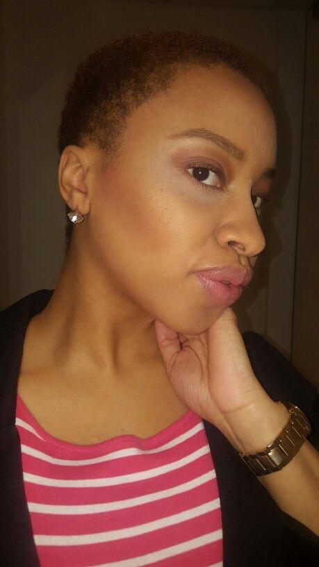 Natural Beat | Brows Anastasia Beverly Hills| Eyes E.l.F Cosmetics | Lips - ELF Matte & Mac LipGlass