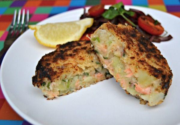 Salmon Fishcake with Warm Tomato Balsamic Salad Recipe #FluffyMarisPiper – Lilinha Angel's World – UK Food & Lifestyle Blog