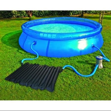 Kokido Solar Swimming Pool Water Heater Heating Coil Panel w/ Intex Connectors