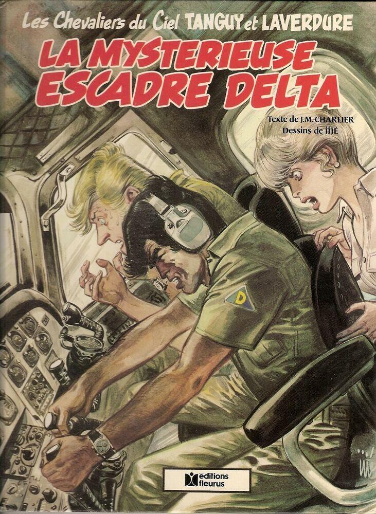 Rare TANGUY ET LAVERDURE La mystérieuse escadre Delta