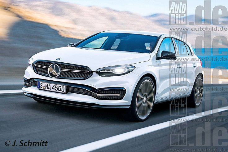 We Now Know What The Next Mercedes-Benz A-Class Will Look Like The Germans are planning on launching the next Mercedes-Benz A-Class generation in 2018 and we already know what it will be like. The hatchback will have a different design from the current one, smaller, with new protection bars and grille, along with LEDS and more space for the passengers.  The...