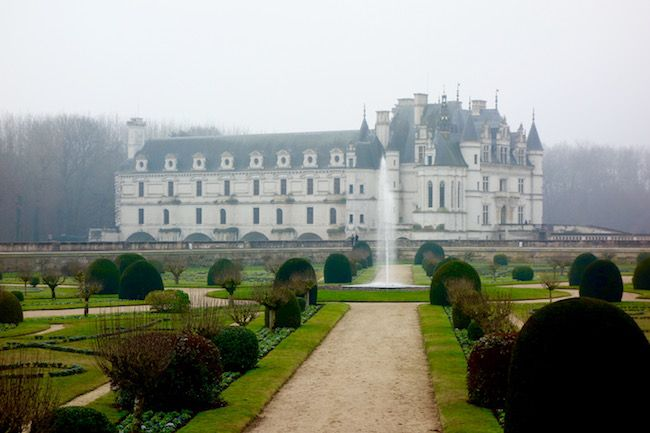 Christmas in the Loire Valley chateaus