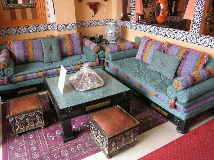 Moroccan Living Room Part 31