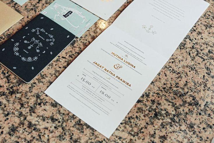 Wedding Invitation Pernikahan Muthia dan Jagad di Jakarta
