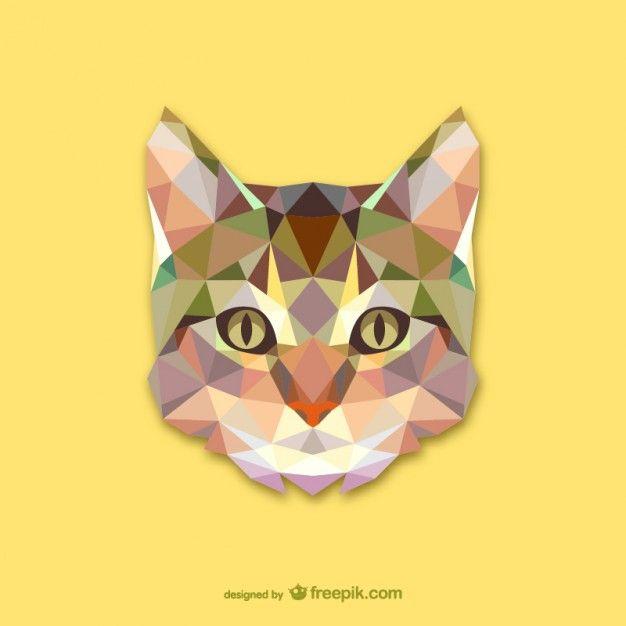 Треугольник кошка проектировать свободный вектор