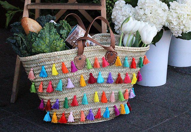 Püsküllü Çanta Yapımı - http://m-visible.com/puskullu-canta-yapimi.html