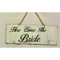 Feathermoon Design - Handmade Announcements - Here Come The Bride