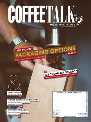 May 2017  INFORMATION IS POWER - Do you know as much as your competition? Do NOT give them the competitive advantage! CoffeeTalk makes it easy to stay on top of industry news, new products, industry trends, and profit-building strategies. Subscribe to CoffeeTalk's three publications FREE at http://coffeetalk.com CoffeeTalk - Industry Intelligence for Smart Business People.