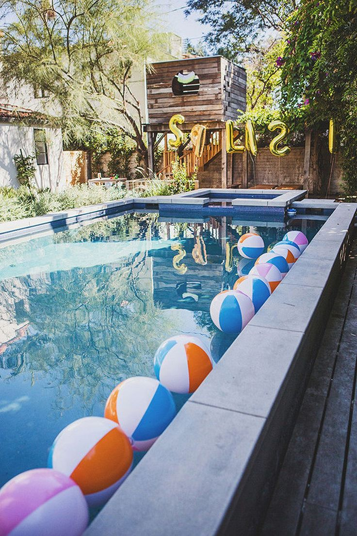 Best 10 bachelorette pool parties ideas on pinterest - Swimming pool party ideas for kids ...