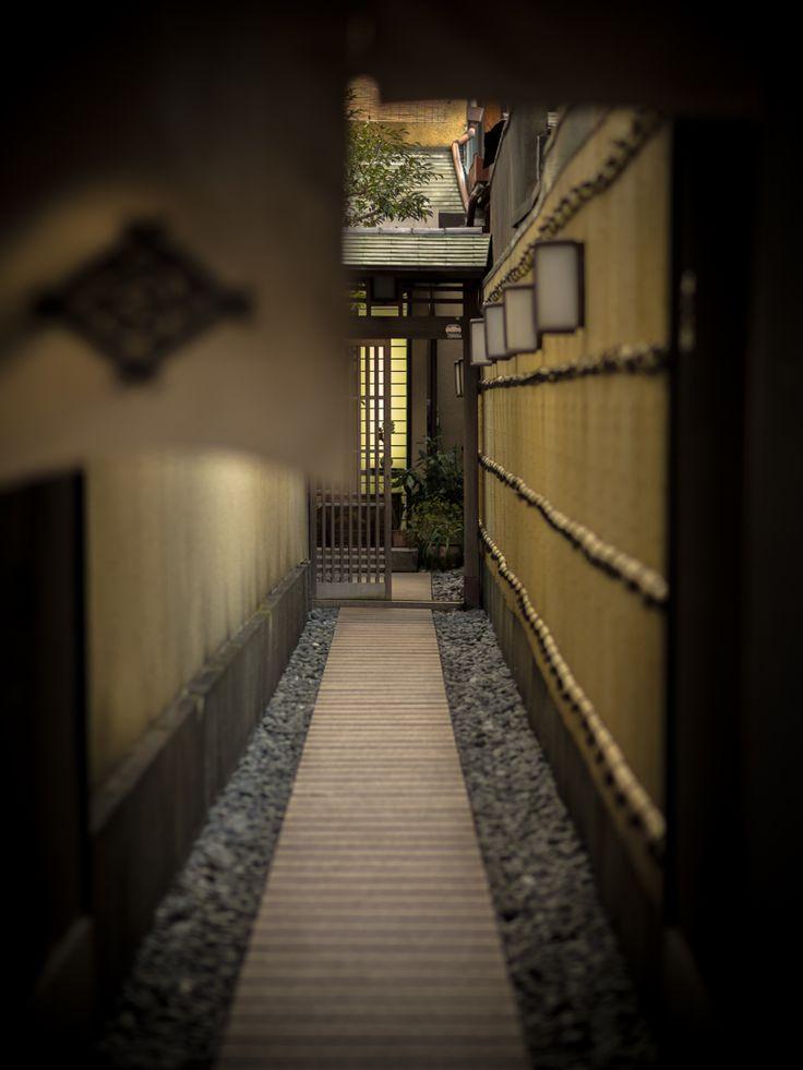 entrance KYOTO,JAPAN 暖簾の先に