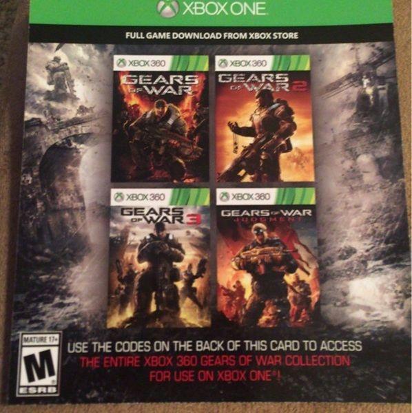 Gears of War, Gears of War 2, Gears of War 3, Gears of War Judgement Codes