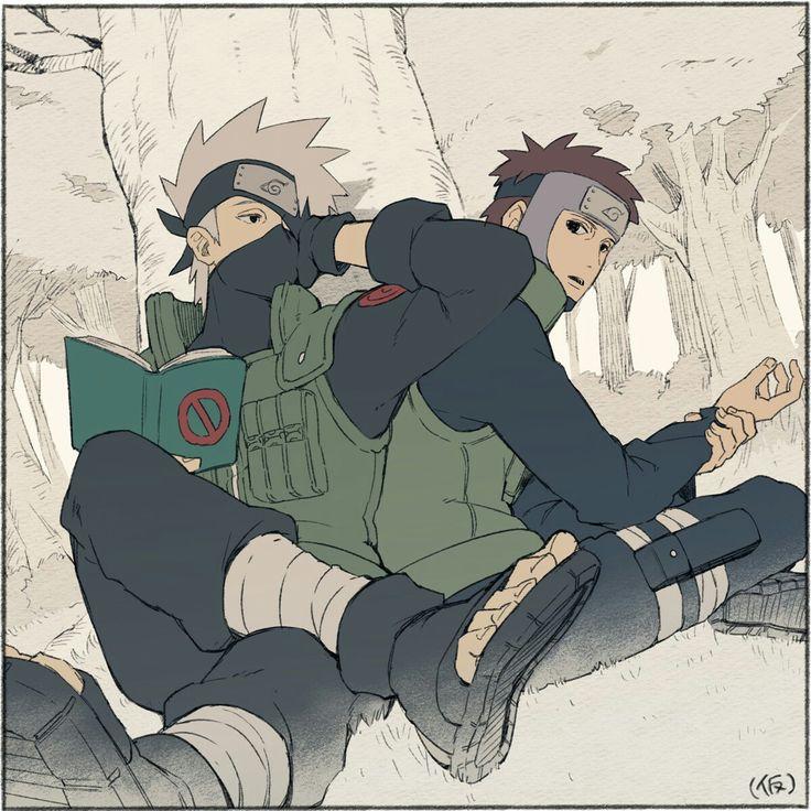 Kakashi and Yamato
