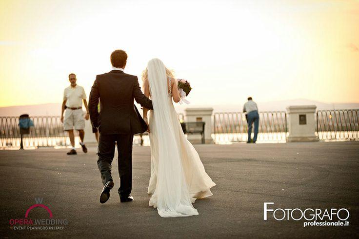 A beach wedding in Siracusa