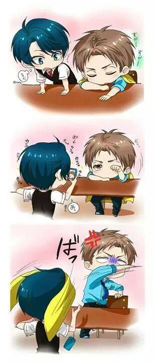 real love :D /Gekkan shoujo nozaki-kun/