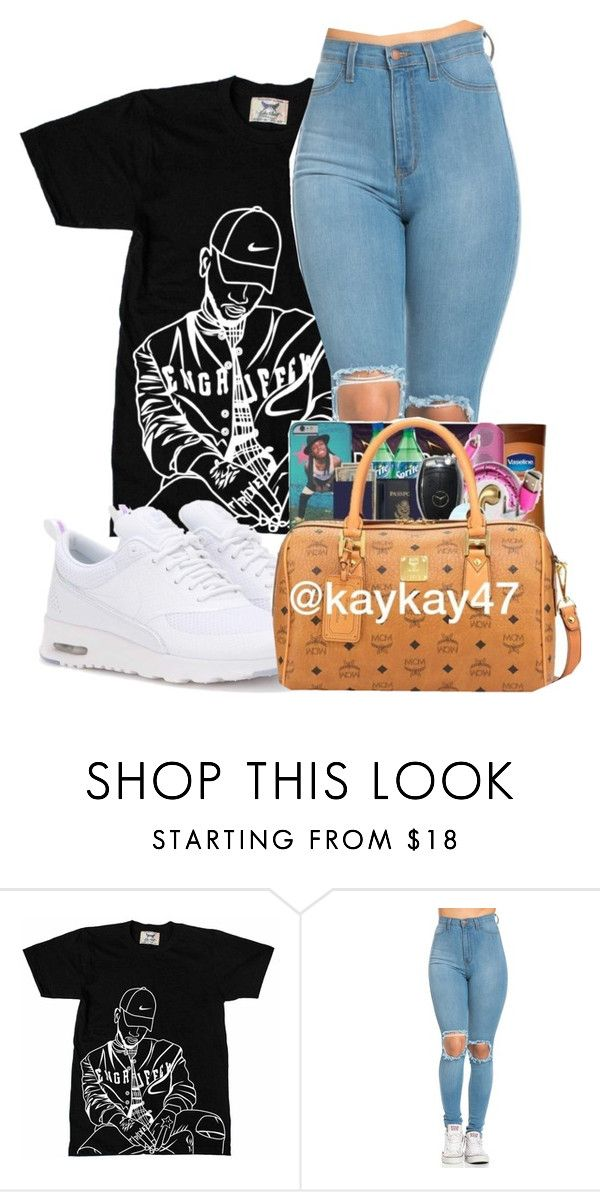 """Bryson Tillerrr"" by ashantisowell on Polyvore featuring NIKE"