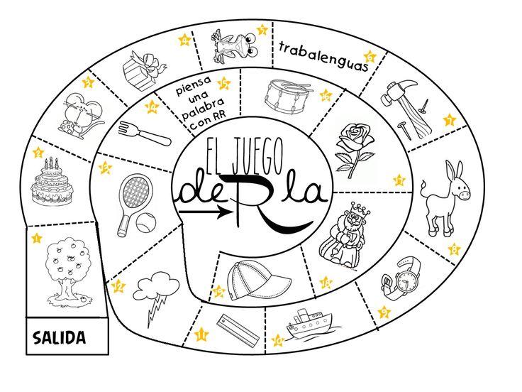 Logopedia dinámica y divertida : El juego de la RR